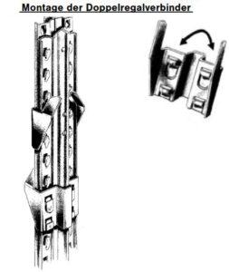 Doppelregalverbinder Super